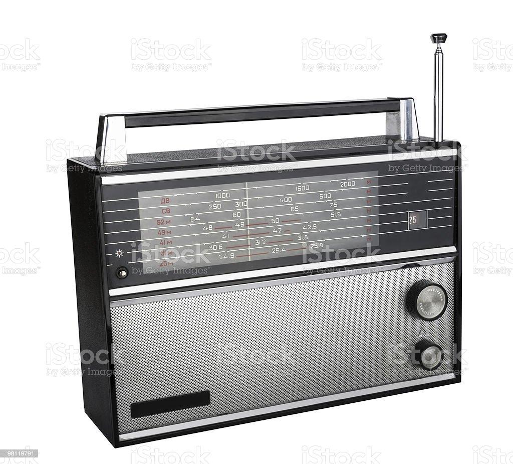 Vecchio radio_2 foto stock royalty-free