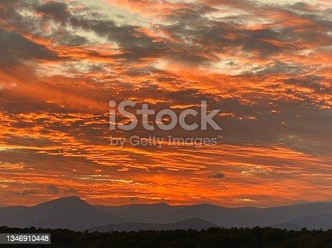 istock Old Rag Mountain - Shenandoah National Park - Sunset 1346910448