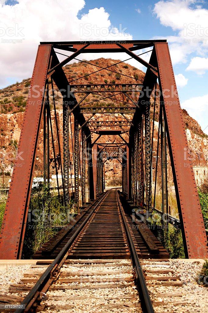 Old Railroad Bridge royalty-free stock photo