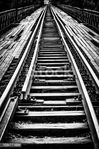 istock old railway bridge (HDRi) 1034771634