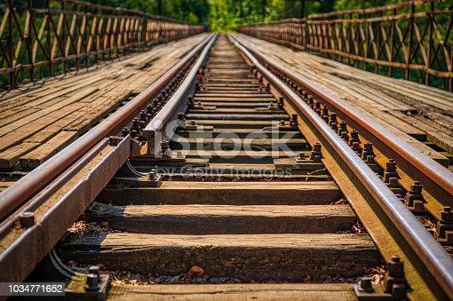 istock old railway bridge (HDRi) 1034771652