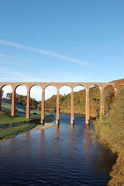 Old Railway bridge . stock photo
