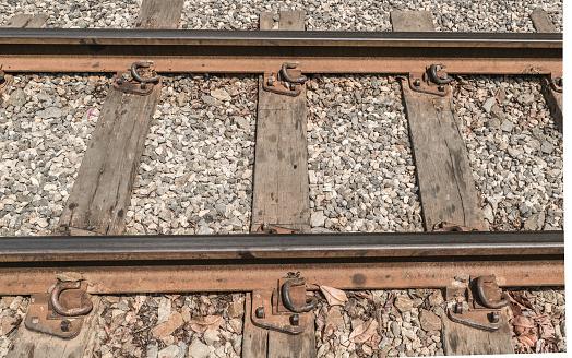 Foto de Caminhos De Ferro Velho e mais fotos de stock de A caminho