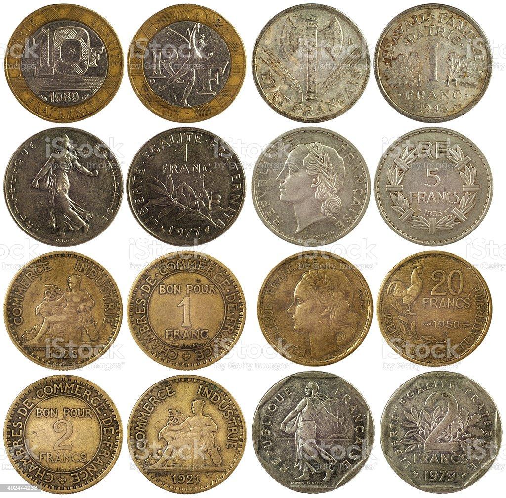 Alte Seltene Münzen Von Frankreich Stock Fotografie Und Mehr Bilder