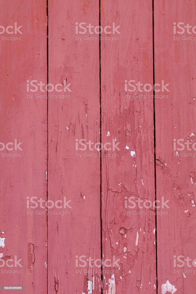 Old Red Barn Wood Vertical Format stock photo