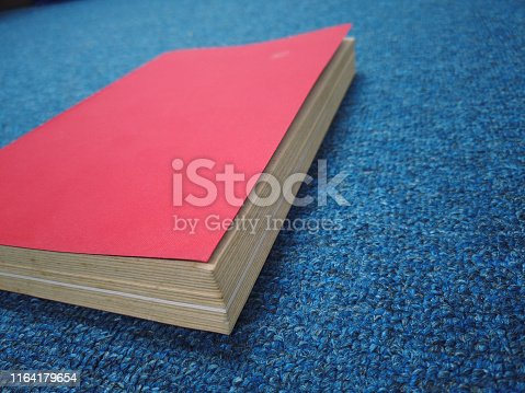 508711370 istock photo old red book in office 1164179654