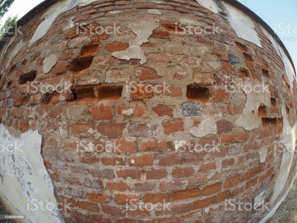 Mur En Brique Rouge photo libre de droit de vieux fond mur de brique rouge banque d'images et  plus d'images libres de droit de {top keyword}