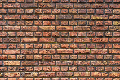 905087856 istock photo Old red brick wall background 1171354333