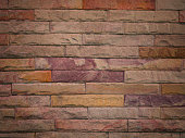 old red brick wall texture background. (Used for background image , Or design work)