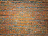 old red brick wall texture , Used for background image , Or design work.