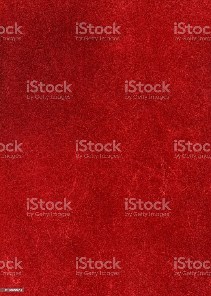old red leather royalty-free stock photo