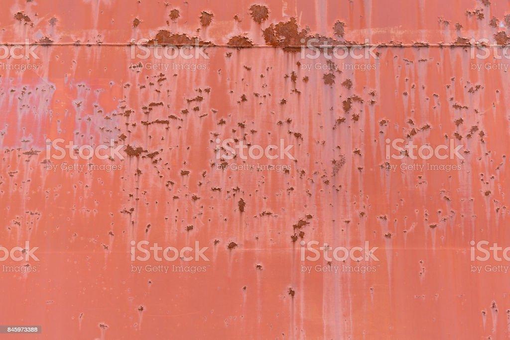 alte rote rostigen Metall Oberfläche für Hintergründe – Foto