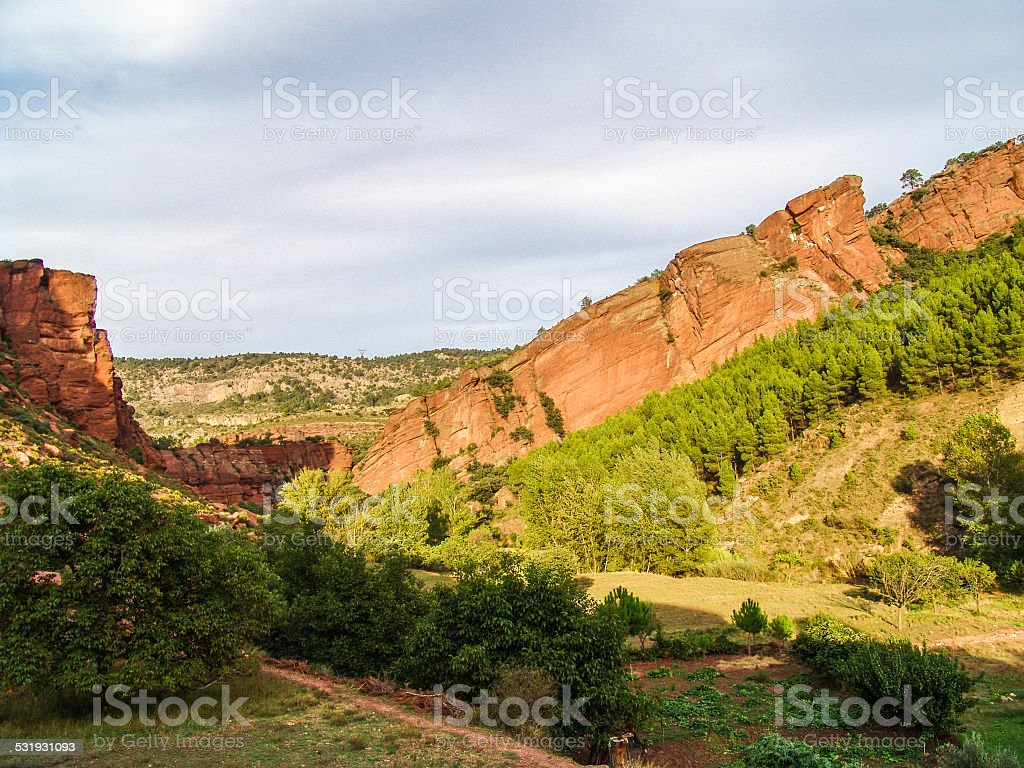 Old Red Sandstone stock photo