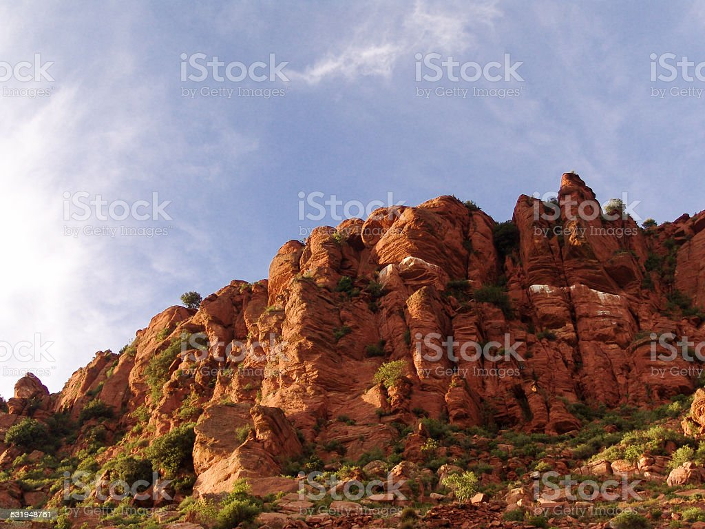 Old Red Sandstone_1 stock photo