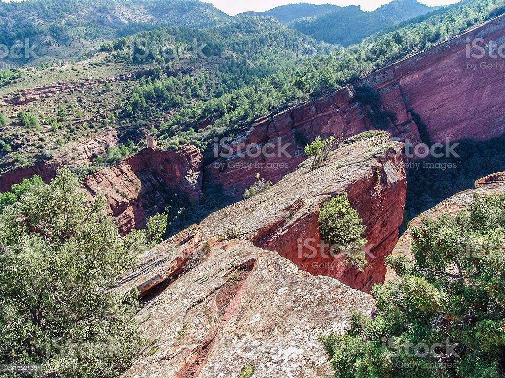 Old Red Sandstone_5 stock photo
