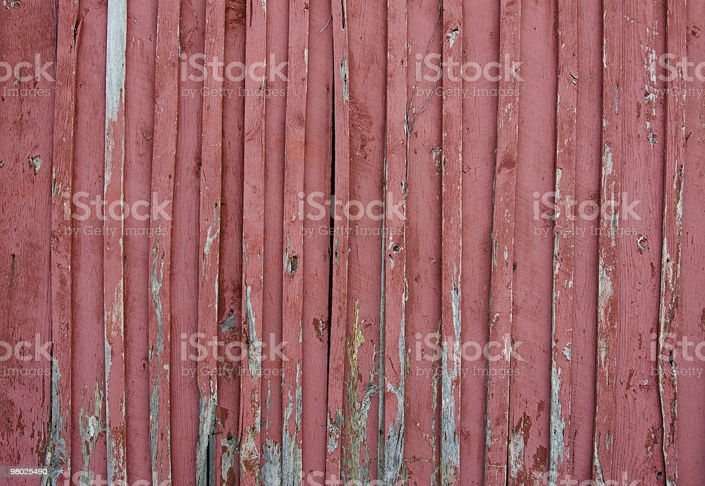 Old Red Wall royalty-free stock photo
