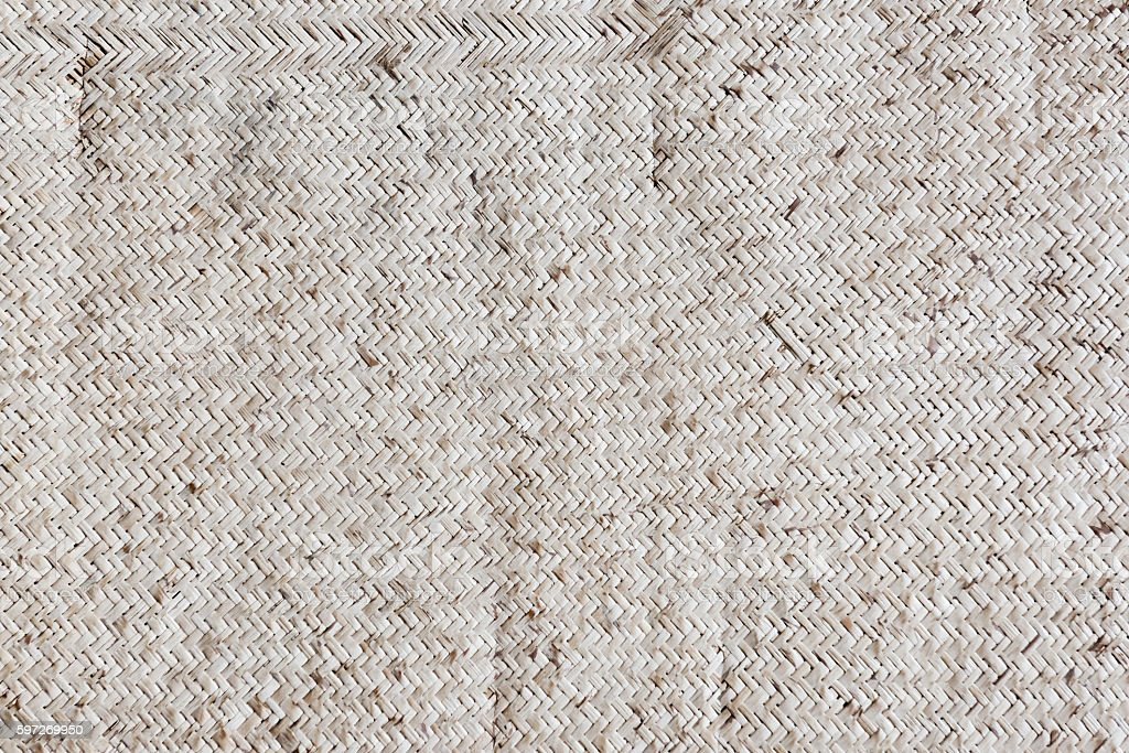 Old reed mat pattern royalty-free stock photo