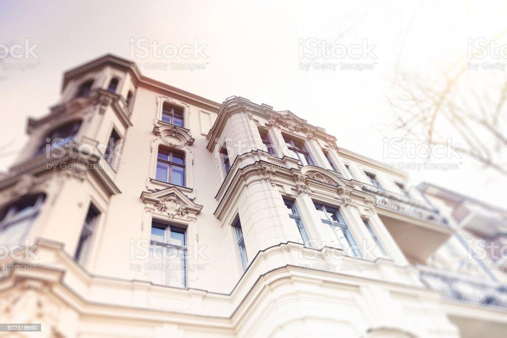 Altes renoviertes Townhous - Lizenzfrei Alt Stock-Foto