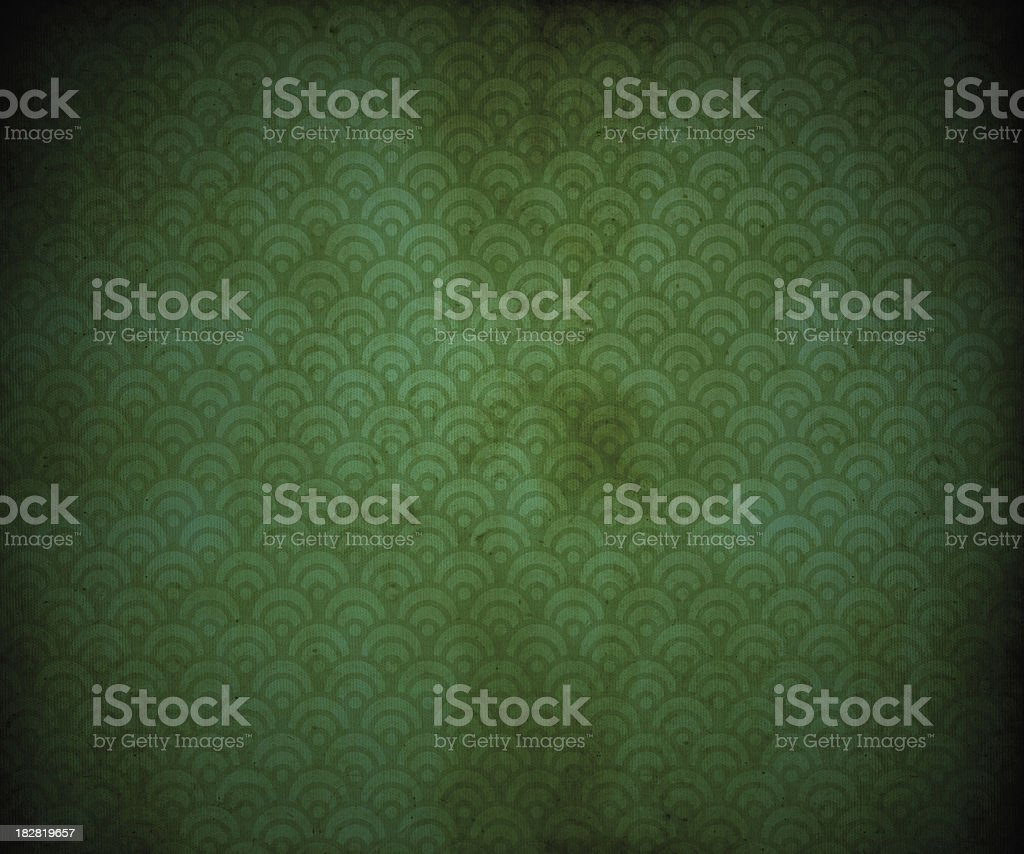 Old Retro Wallpaper royalty-free stock photo