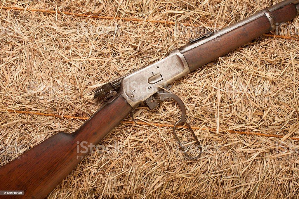Old Rifle stock photo