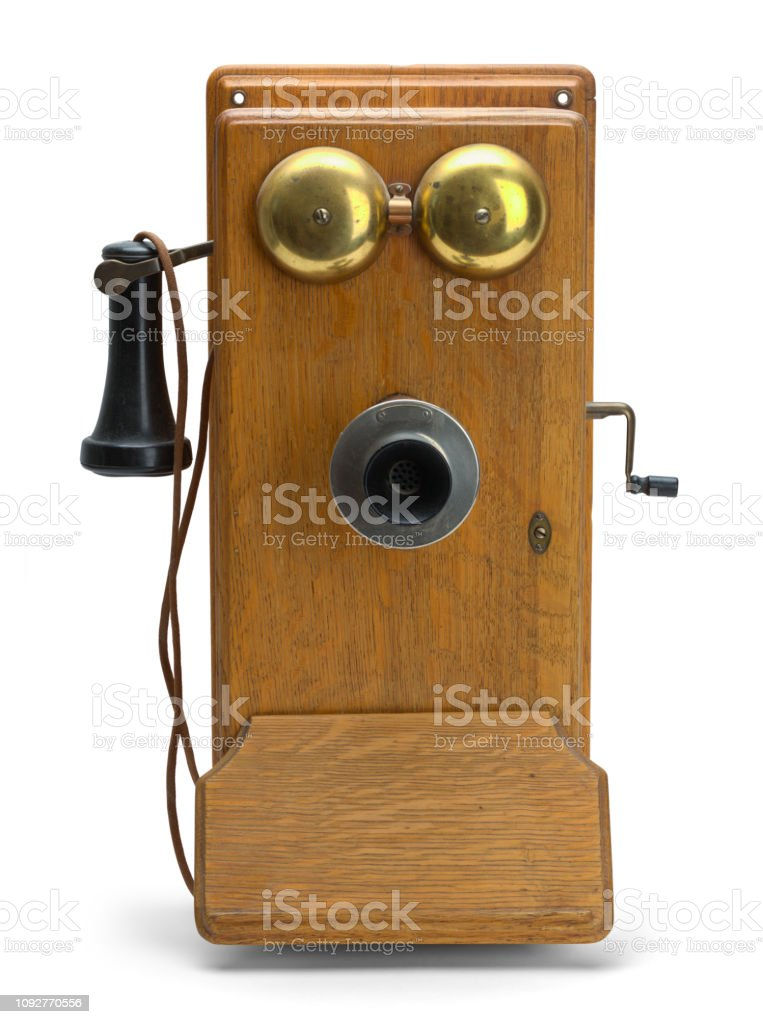 Old Ring Telephone Stock Photo & More Pictures of Aging