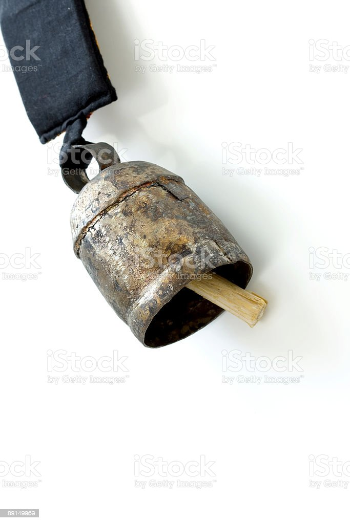 old ringing bell royalty-free stock photo
