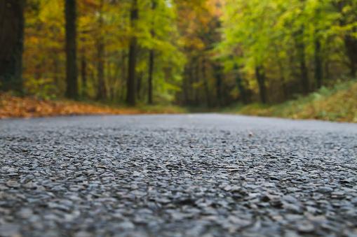 Old road detail