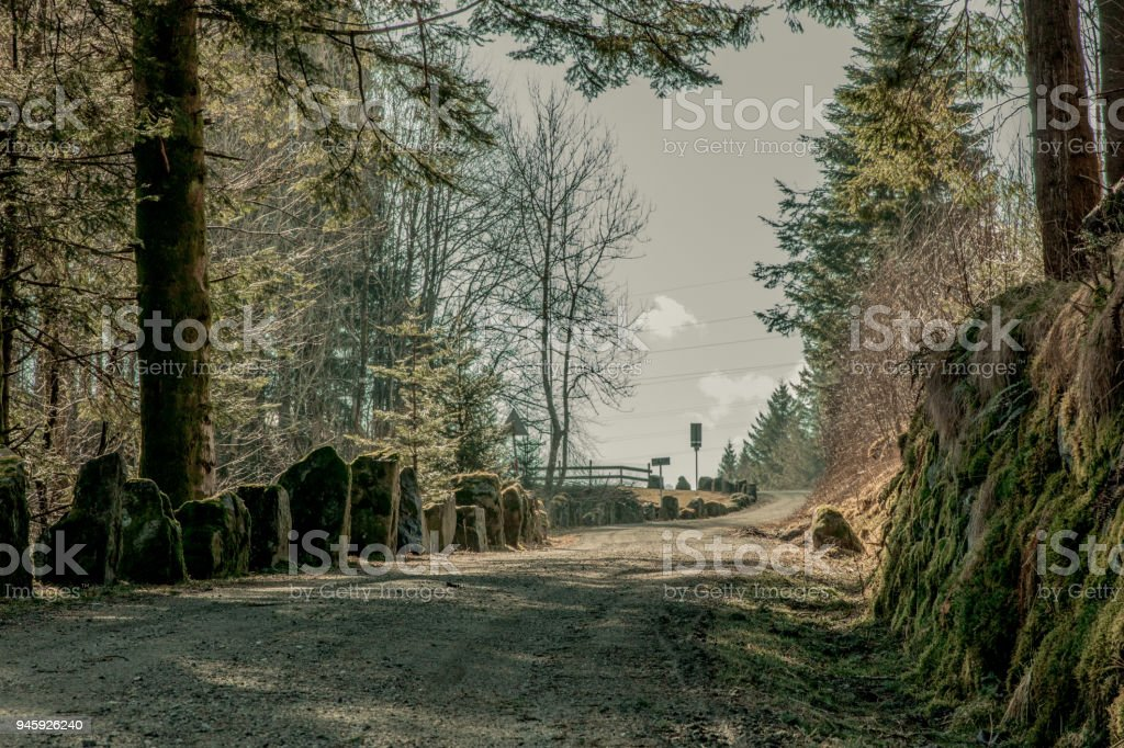 old road stock photo