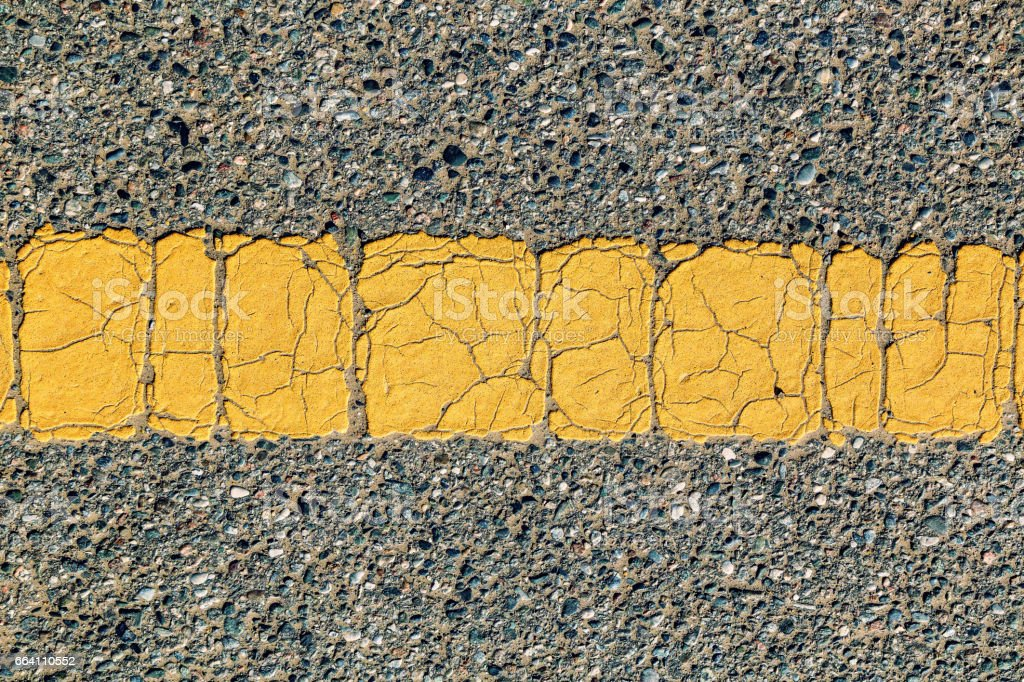 Old road surface material foto stock royalty-free