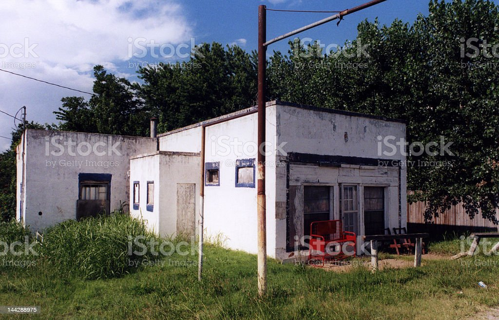 Old Roadside Business royalty-free stock photo