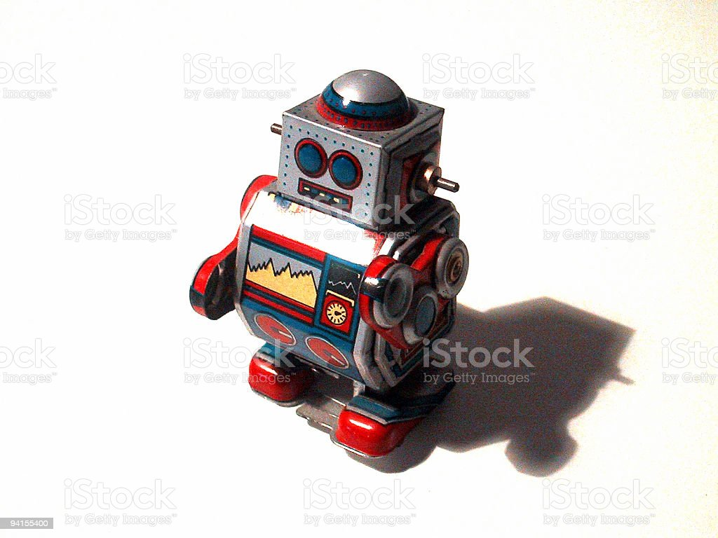 old - robo 02 royalty-free stock photo