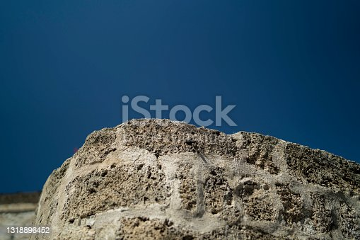 istock Old Rock Wall 1318896452