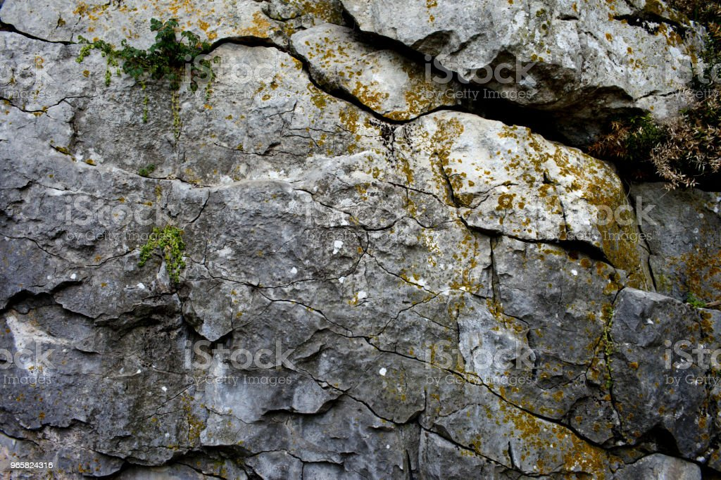 Oude rock met scheuren - Royalty-free Abstract Stockfoto