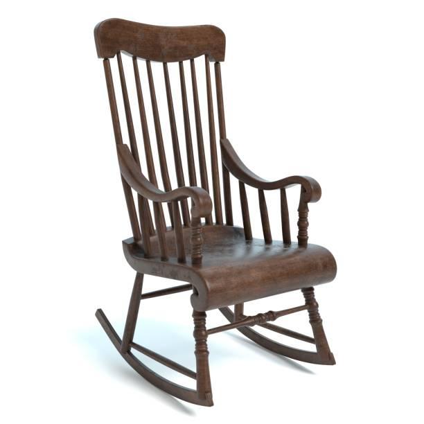 rocking chair photos et images libres de droits istock. Black Bedroom Furniture Sets. Home Design Ideas
