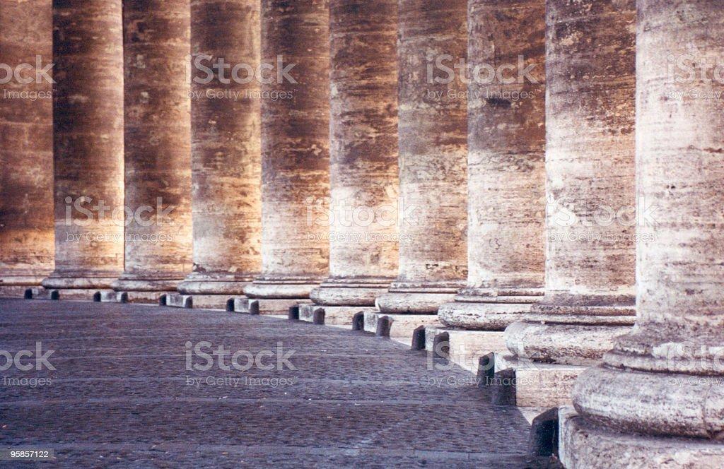 Alte römische Säulen – Foto