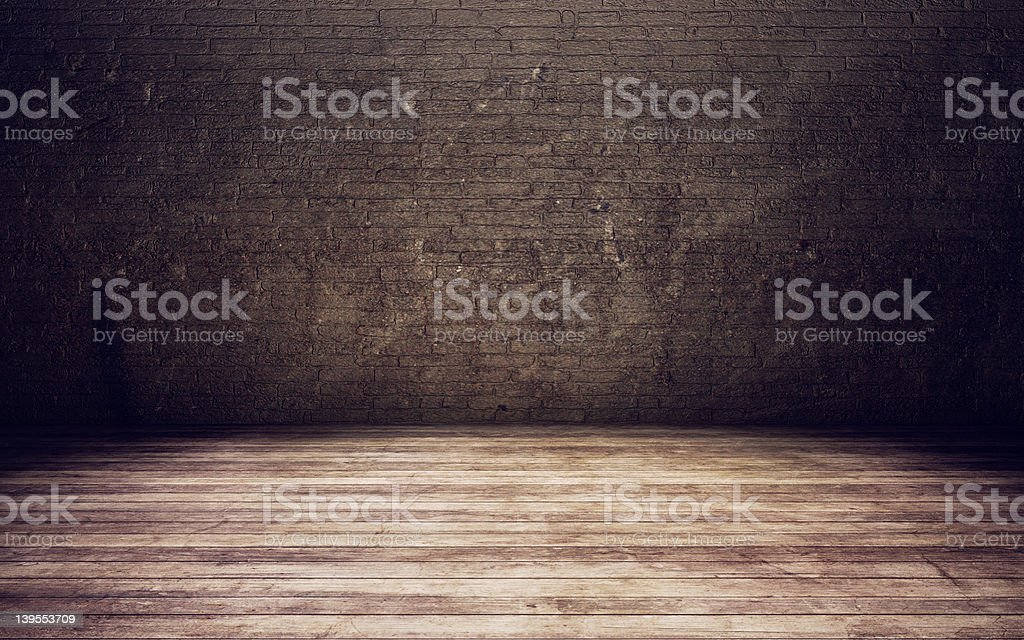 Old room background stock photo