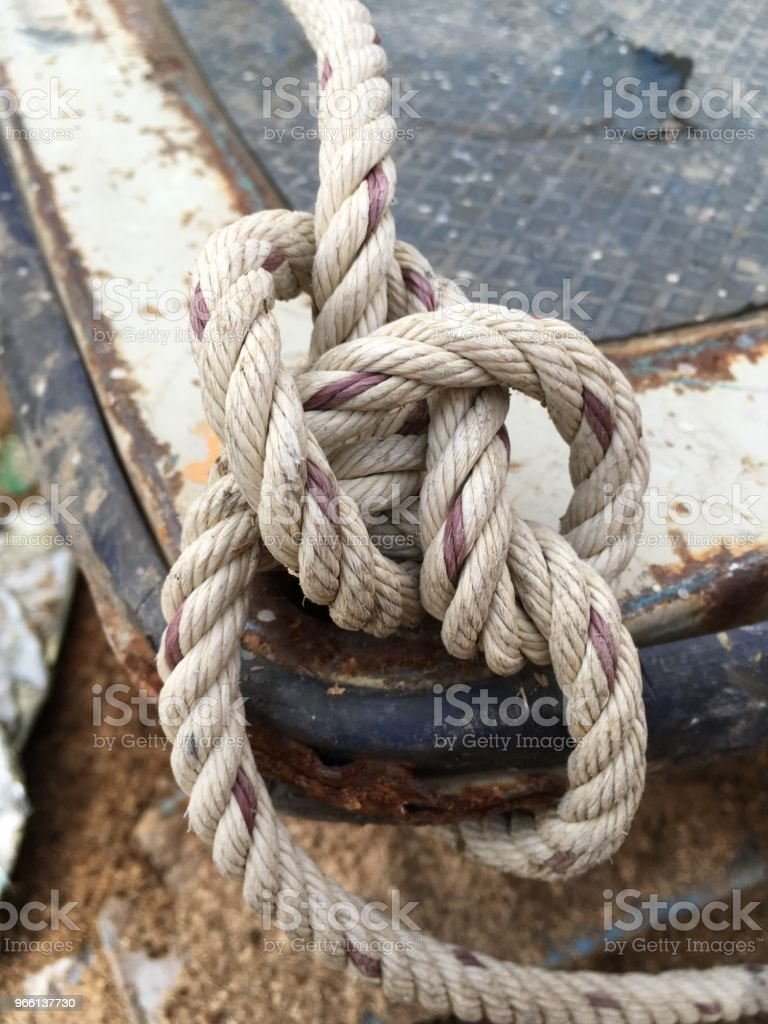 old rope net - Royalty-free Cable Stock Photo
