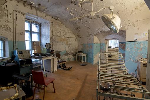 old rotten hospital ward