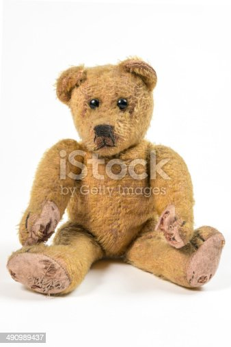Nostalgic and lonesome Teddy bear
