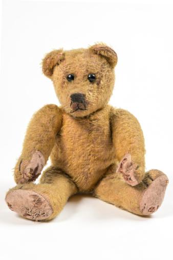 Nostalgic and lonesome Teddy bear