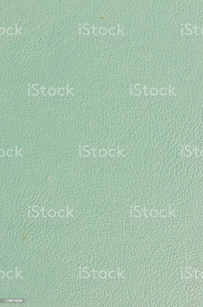 Old rough green paper royalty-free stock photo