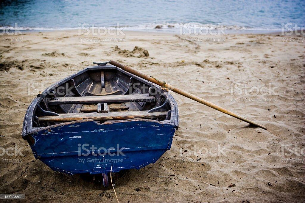 Old Row Boat royalty-free stock photo