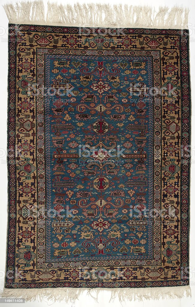 old rug stock photo