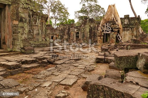478956028istockphoto Old Ruin of Preah Khan Temple in Cambodia 473999150