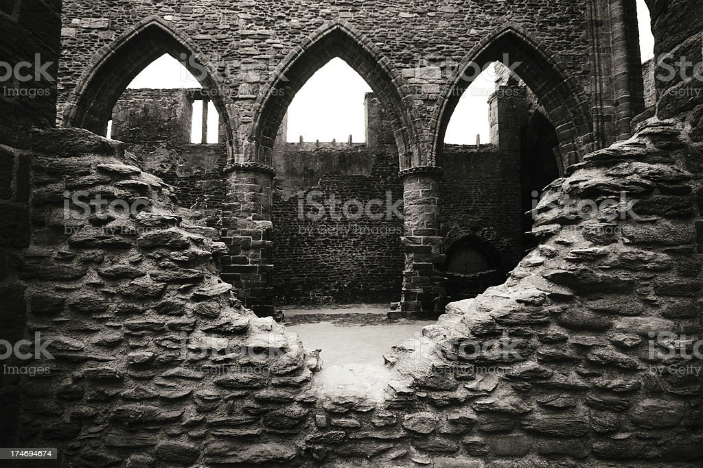 Old ruin royalty-free stock photo