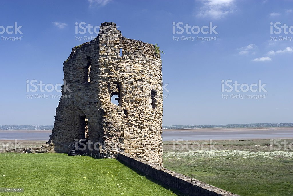 Old ruined castle royalty-free stock photo