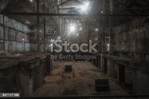 istock old ruined factory shop 647127166