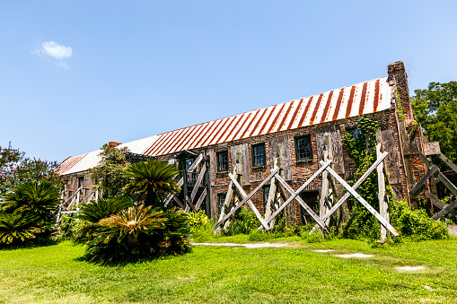 istock old ruinous historic hut in an old South Carolina farm 494209483