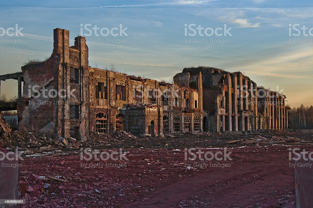 old ruins royalty-free stock photo