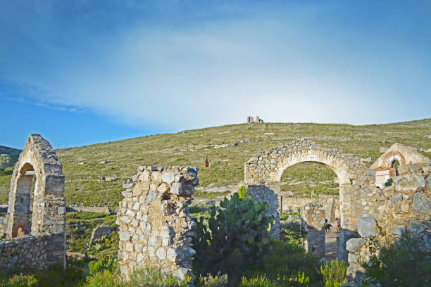 Old ruins Old ruins real de catorce stock pictures, royalty-free photos & images